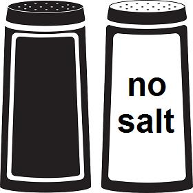 التقليل من الملح
