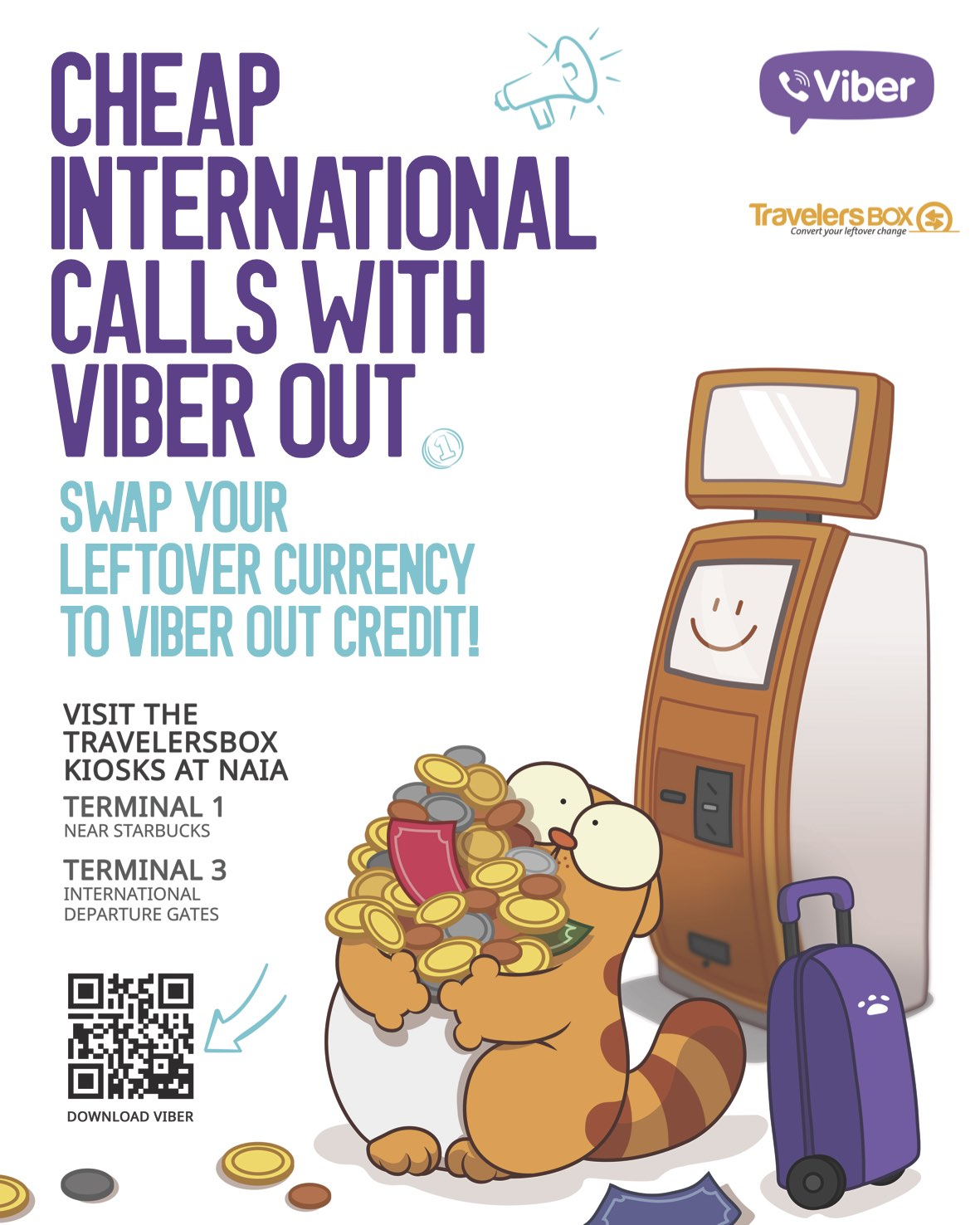 Viber and TravelersBox