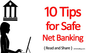 10 Tips To Use Net Banking Online