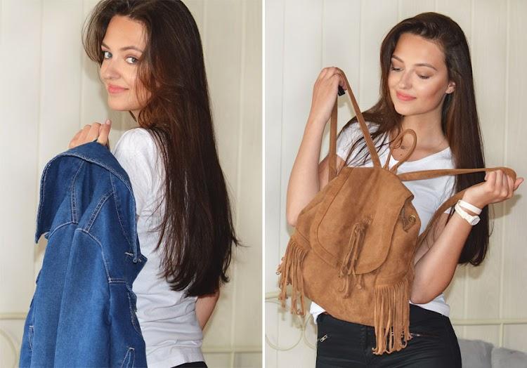 Modowi ulubieńcy wiosny - jeansowa kurtka, idealne jeansy, najlepsze t-shirty, białe Conversy, espadryle, plecak i zegarek - Czytaj więcej »