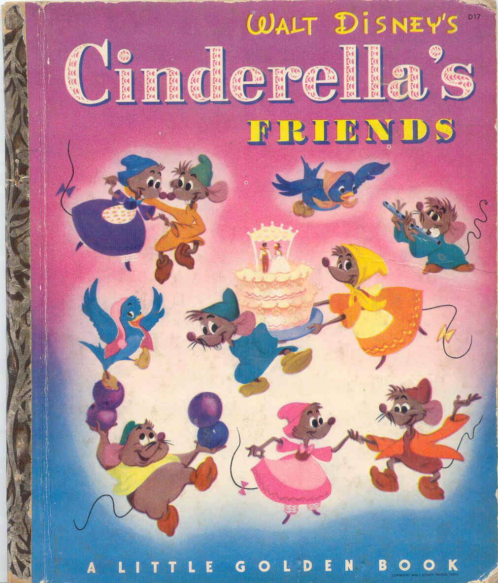 Disney Friendship Dress Cinderella: Gold Country Girls: My Disney Cinderella Books