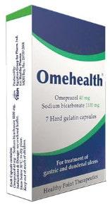 سعر ودواعى إستعمال دواء اوميهلث Omehealth لقرحة المعدة