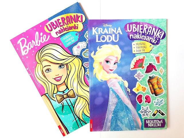 Barbie™. Ubieranki naklejanki.  Kraina lodu. Ubieranki naklejanki | Wydawnictwo AMEET