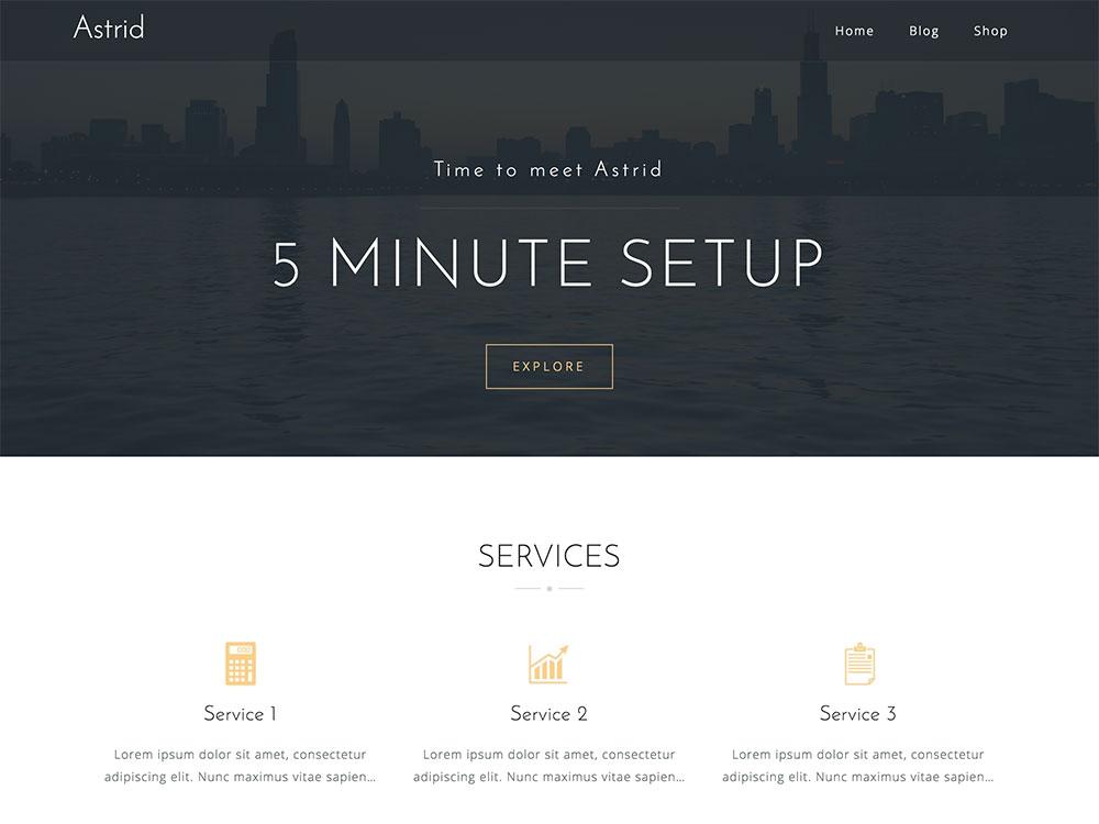 Astrid WordPress Themes - Premium WordPress Theme