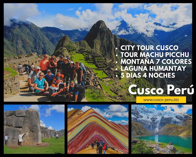 tour machu picchu montaña 7 colores laguna humantay