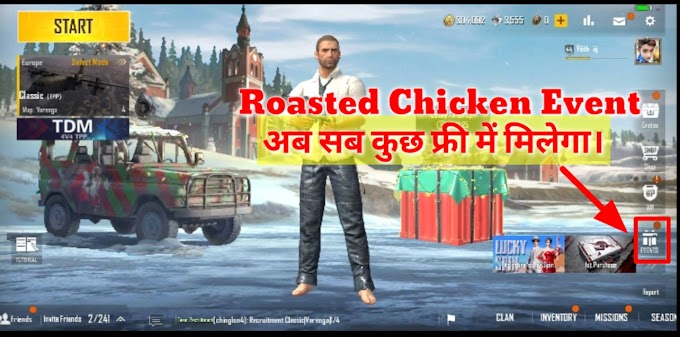 How to use a roast chicken in PUBG?