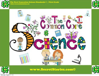 FREE Common Core Science Posters Sets for PK-3rd Grade