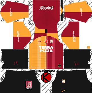 Galatasaray S.K. 2019/2020 Kit - Dream League Soccer Kits