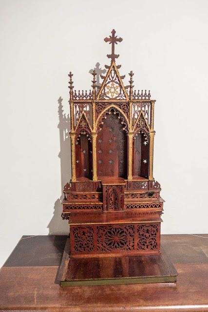 Uma peça do acervo do Museu de Arte Sacra