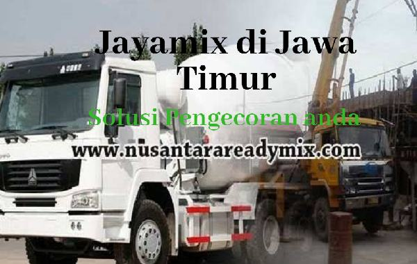 HARGA BETON JAYAMIX BONDOWOSO JAWA TIMUR 2020