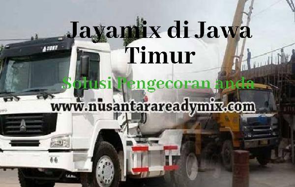 HARGA BETON JAYAMIX SITUBONDO JAWA TIMUR 2021