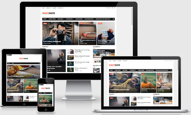 MagtiMate Responsive Blogger Templates