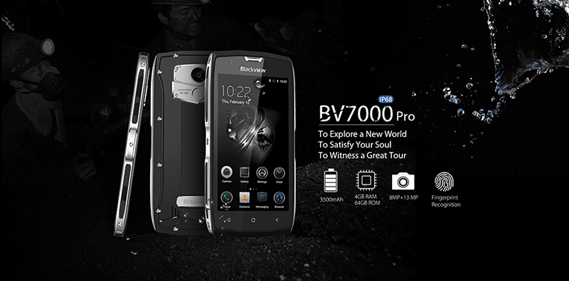 Blackview BV7000 Pro With Rugged Design Is Launching In PH