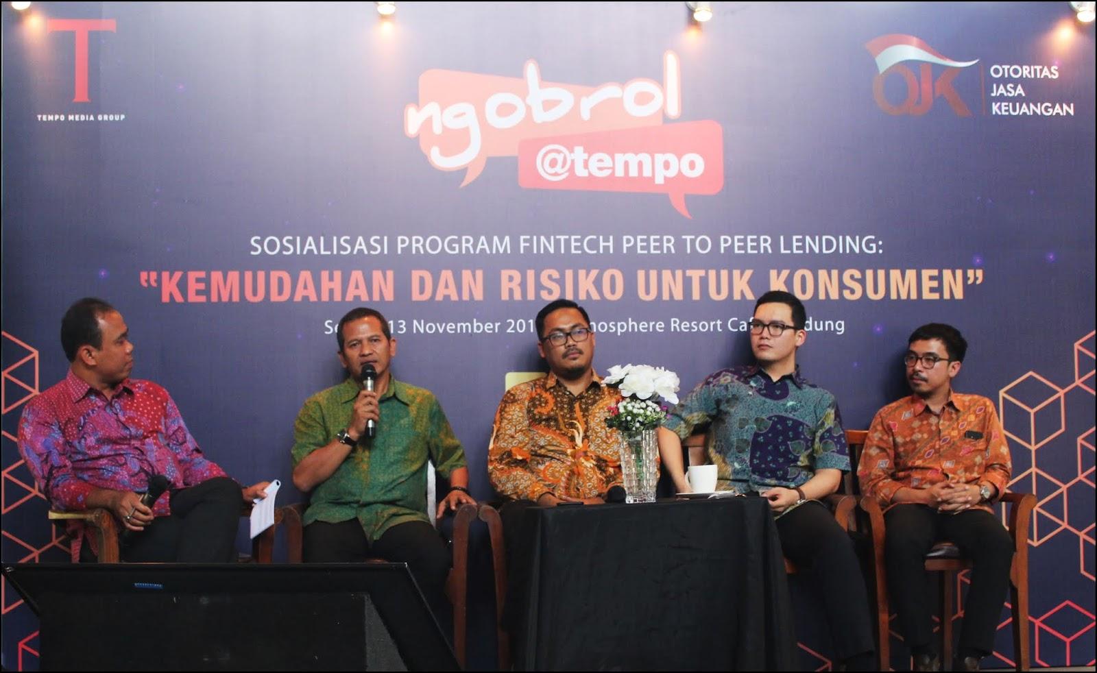Fintech Peer to Peer Lending, Layanan Peminjaman Dana Alternatif Untuk Modal Usaha