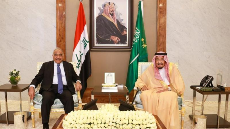 Iraqi PM Abdul Mahdi says Riyadh wants to avoid war with Iran
