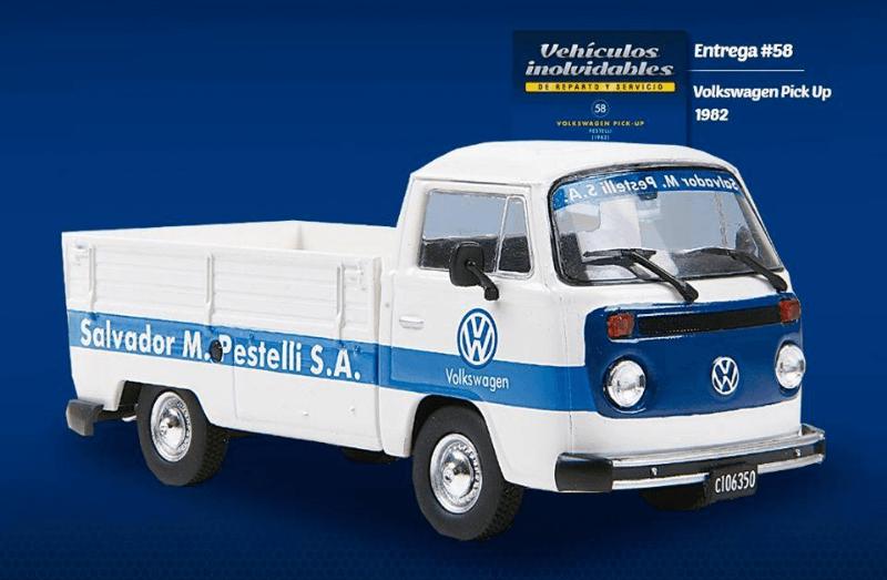 Volkswagen Kombi 1982 Salvador M. Pestelli vehiculos inolvidables de reparto y servicio