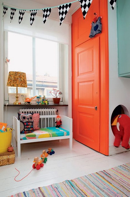 7 childrens rooms with lots of color 7