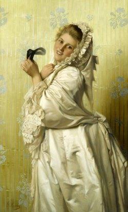 Подборка живописи  «Женщина и маска в живописи»