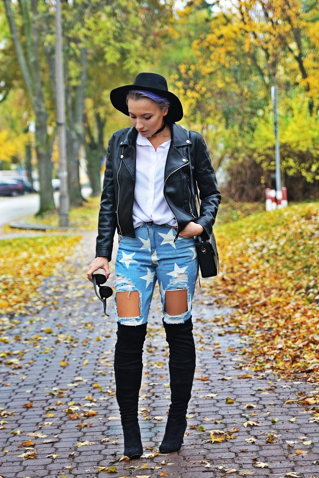 jeansy_w_gwiazdki_buty_za_kolano_czarna_ramoneska_karyn