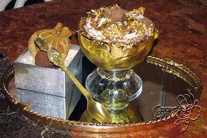 Gold Ice Cream, Golden Opulence Sundae