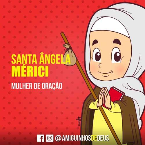 Santa Ângela Mérici desenho