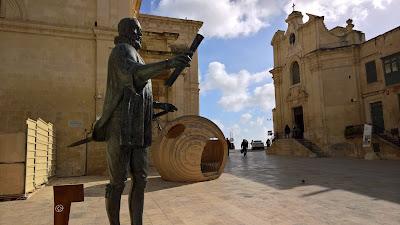 Pjazza Jean de Vallette, La Valletta, Malta.