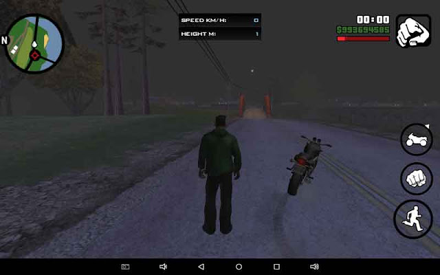 motor jalan sendiri