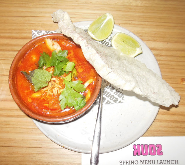 Souk, Melbourne CBD, Moroccan seafood stew
