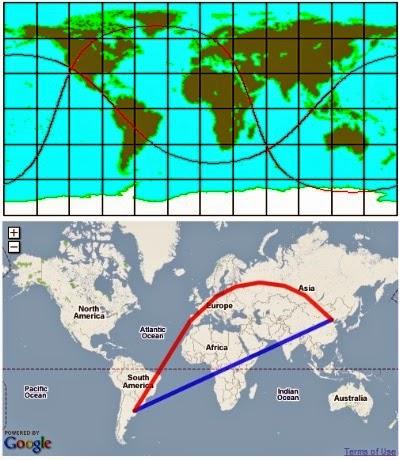 Línea geodésica, geodésica, geodesia