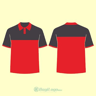 Mockup Polo Shirt vector cdr