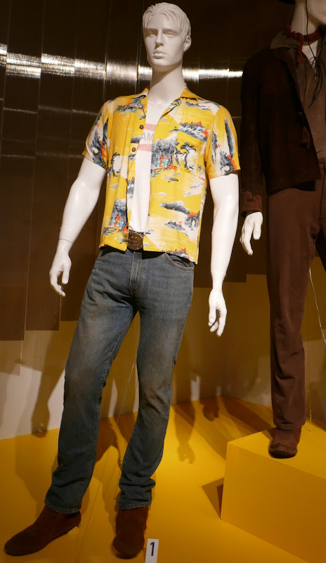 Brad Pitt Once Upon Time Hollywood Cliff Booth costume