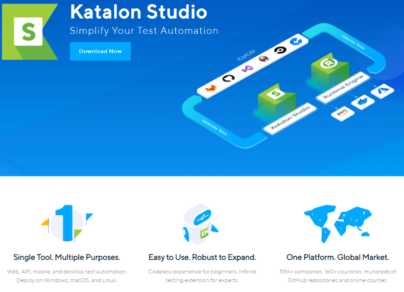 Katalon Sudio - Top API testing tools - RightQA
