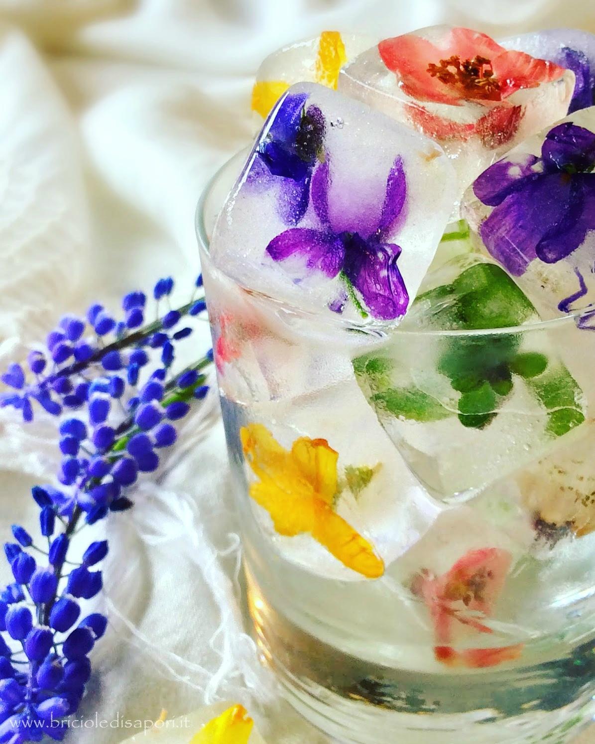 come si fanno i cubetti di ghiaccio con i fiori