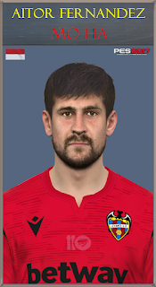 PES 2017 Faces Aitor Fernandez by Mo Ha
