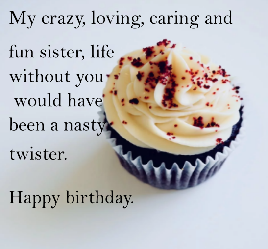 Happy Birthday Image Sister Free Download