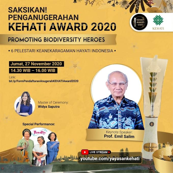 Penganugerahan KEHATI AWARD 2020
