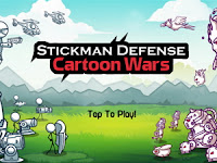 Download Stickman Defense Cartoon Wars MOD APK
