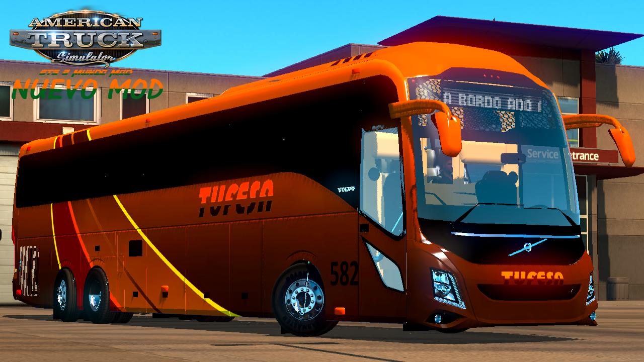 Bus Mod) Volvo 9800 - ETS 2 Mundo Mod