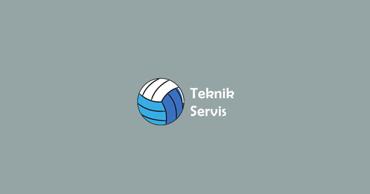 Pengertian Dan Macam Macam Teknik Servis Bola Voli Tutorian21 Com