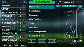 [300 MB] PES 2020 PPSSPP Camera PS4 English Version Android Offline Best Graphics New Update