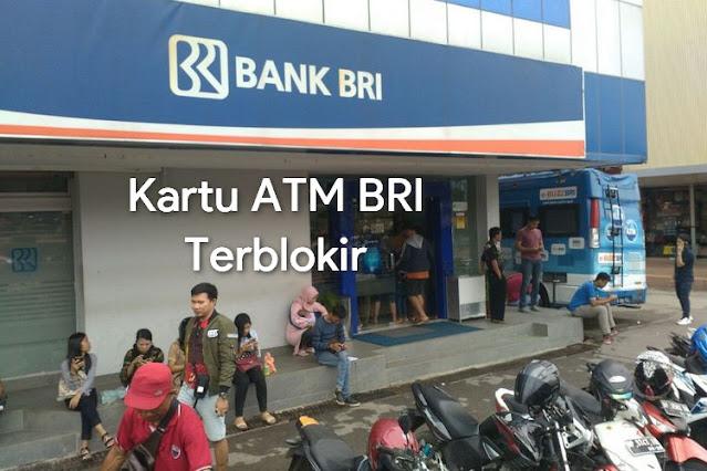 Kartu ATM BRI Terblokir