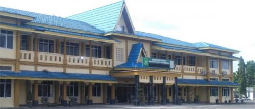 Gedung kantor Bupati Kabupaten Kepulauan Meranti