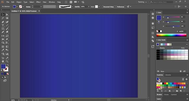 Mandala in Adobe Illustrator