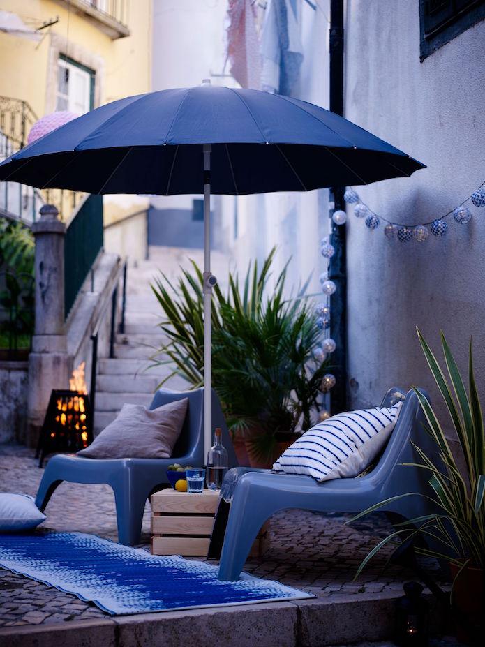 terrazas de verano de ikea