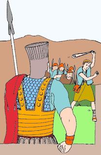 Davide sfida Golia