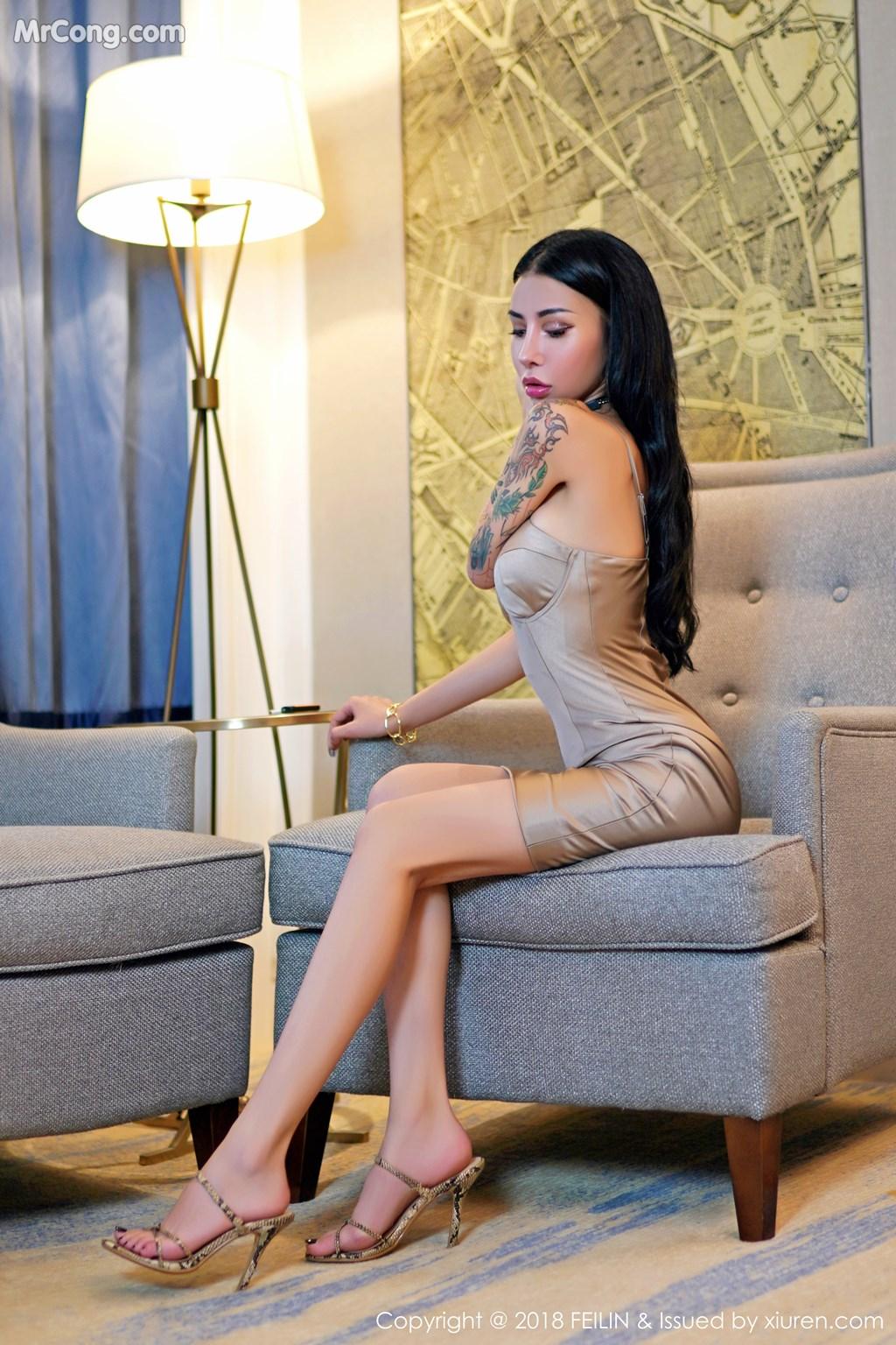 FEILIN Vol.162: Người mẫu Wan Jia Ning (万嘉凝) (44 ảnh)