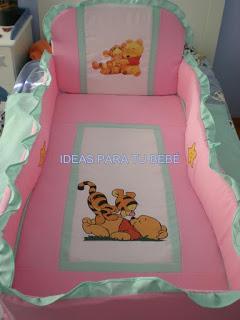 Juego de cuna baby pooh y tigger