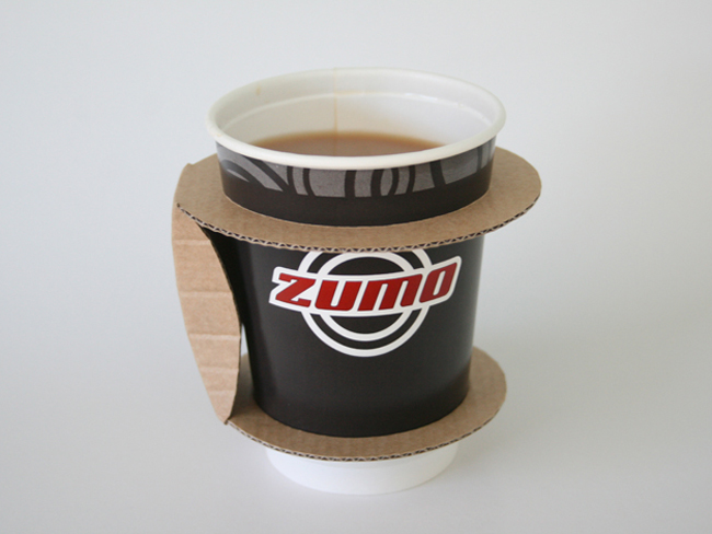 Paper Cup Holder Concept On Packaging Of The World