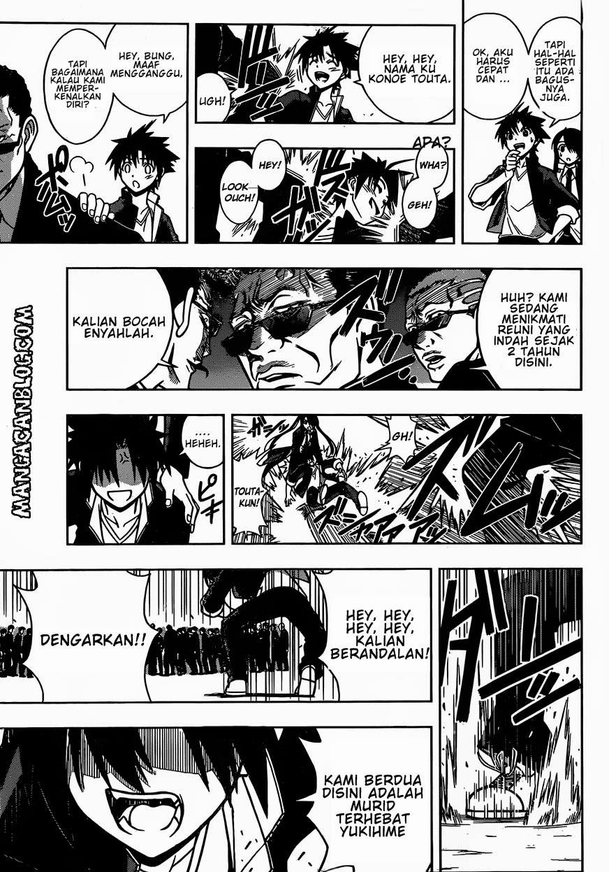 Baca Komik UQ Holder! Chapter 7 Bahasa Indonesia
