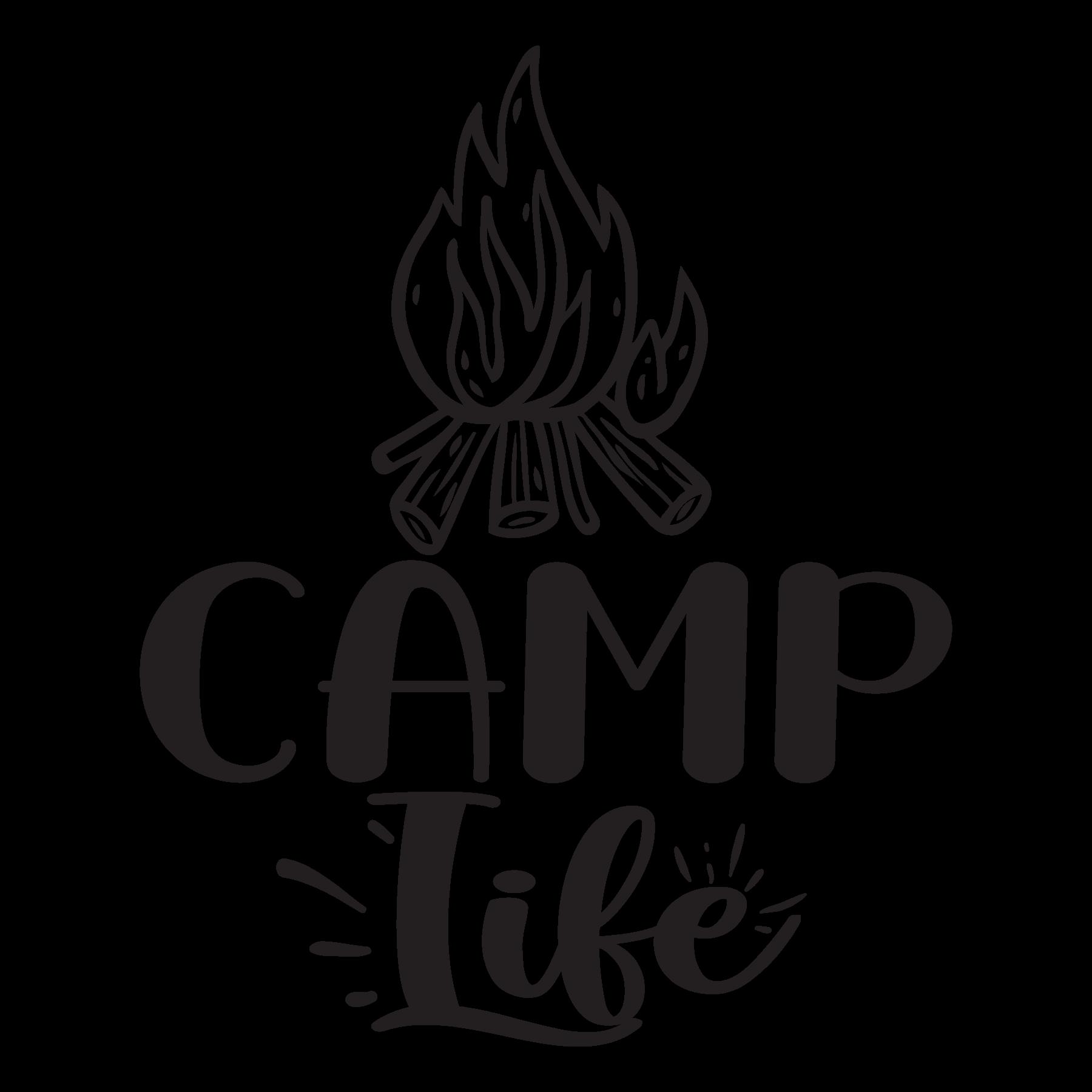 Download Camp Life SVG Cut Files